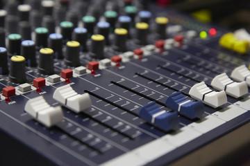 Audio musical mixer