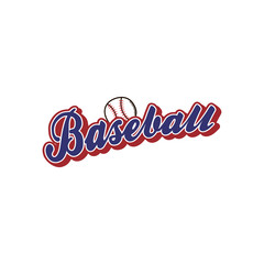 baseball league sport theme