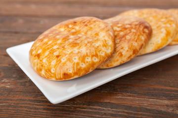 Homemade small bread like snack