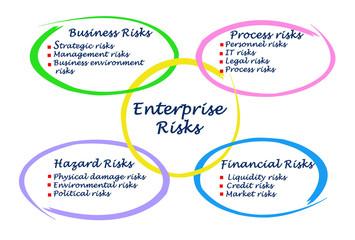 Diagram of Enterprise Risks