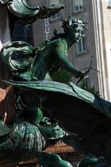 Leipzig, Mendebrunnen, Nereide