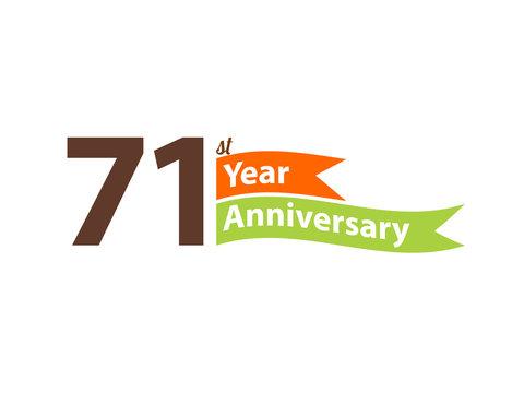 71 year anniversary