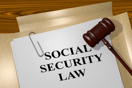 Social Security Law concept