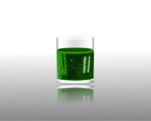 Мохито в стеклянном стакане