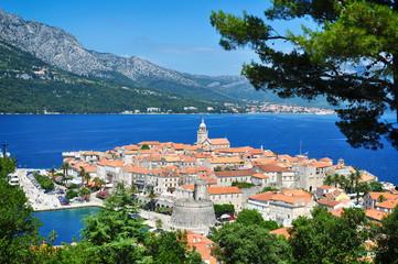 Corcula island, Croatia.