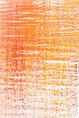 graphic design - orange  drawing on white background