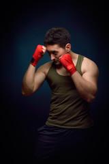 Muscle man box training