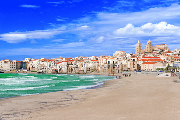 Beach at Cefalu
