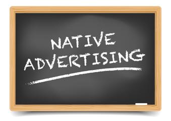 Blackboard Native Advertising