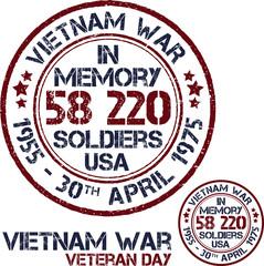 Vietnam war. Remembrance day