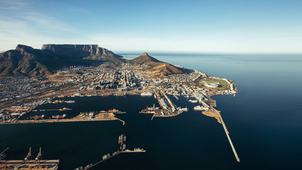 Victoria & Alfred waterfront and Cape Town harbour