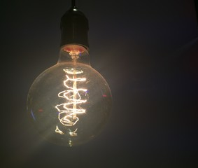 Bulb Coil in Cafe