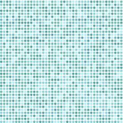 sea blue circle dot  mosaic pattern vector design