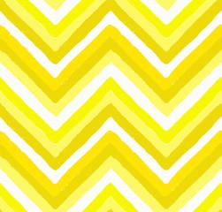 Yellow Painted Chevron Pattern
