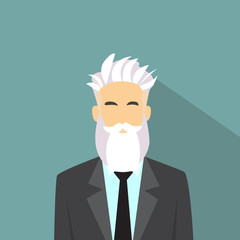 Business Man Profile Icon Male Avatar Hipster Style