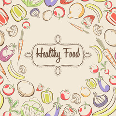 Healthy Food Poster