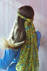 Long hair girl