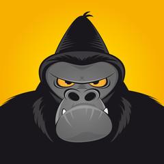 affe gorilla böse