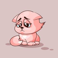 Nice cat sad
