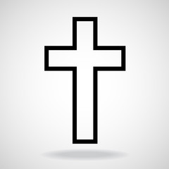 Cross. Christian Symbol