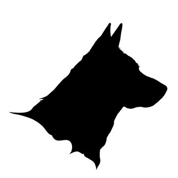 Vector illustration of dog logo.