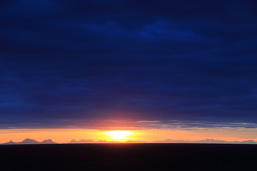 panorama isole lofoten norvegia