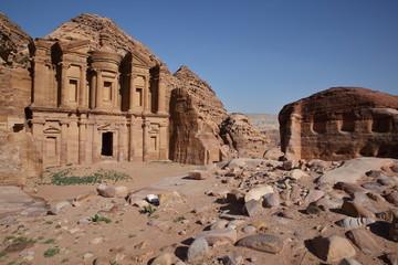 Monastère Al Deir à Pétra - Jordanie