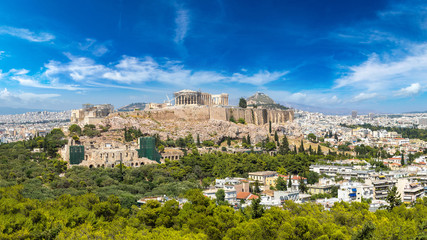 Canvas Prints Athens Acropolis in Athens