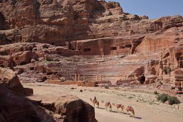 Le Théatre à Pétra - Jordanie