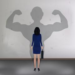 Femme - Force - inégalité