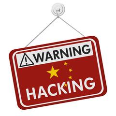 Chinese Hacking Warning Sign