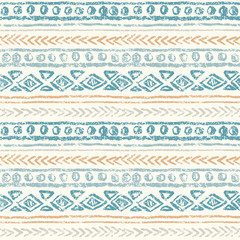 Abstract ethnic seamless pattern, hand draw.