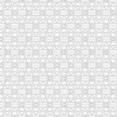 Abstract Geometric Black and White Vector Pattern. Digital background illustration.