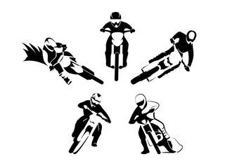 motocross enduro set