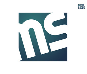 MS Initial Logo for your startup venture