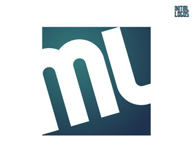 ML Initial Logo for your startup venture