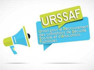 mégaphone : URSSAF