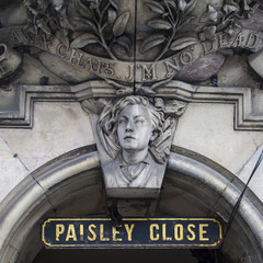Paisley Close in Edinburgh