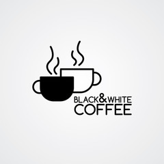 coffee cafe sign logo theme