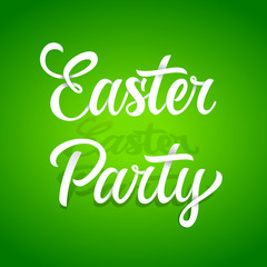 Easter Party inscription 2