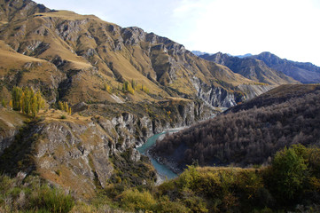 Bungee jumping Bridge, Skippers Canyon Road , Queenstown, New Zealand