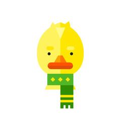 Cartoon Duckling Vector Icon