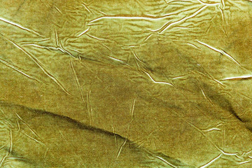 The background, texture of cotton khaki fabric