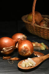 Yellow Onion Still Life