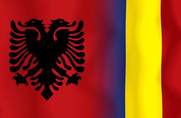 Soccer Euro 2016 ( Football )  Albanai  and Romania
