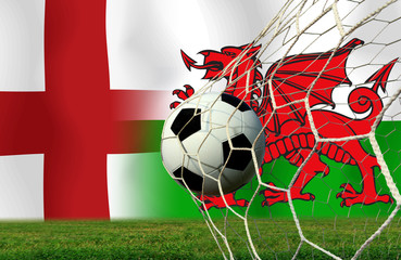 Soccer Euro 2016 ( Football )  England  and Welsh