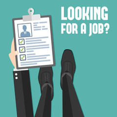 Concept of job searching