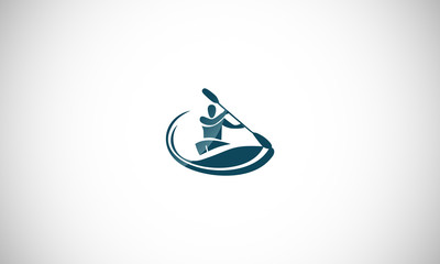 water sport logo icon Vector