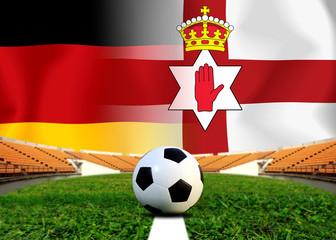Soccer Euro 2016 ( Football )  German  and North Ireland