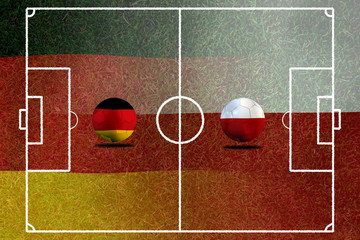 Soccer Euro 2016 ( Football )  German and Poland